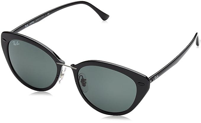 RAYBAN Mod. 4250, Gafas de Sol para Mujer, Black Green, 52  Amazon.es  Ropa  y accesorios 6296856c91