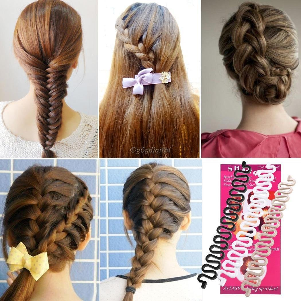 Buy Fashion Hair Braiding Braider Roller For Fish Bone Braiding French Braid Style Online At Low Prices In India Amazon In