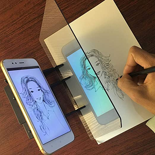 Tabla de trazado óptico portátil con panel de copia, manualidades ...