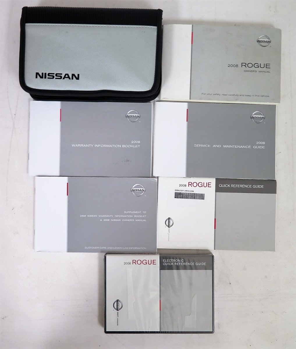 Nissan Rogue Owners Manual: Owner's ManualService Manual order information