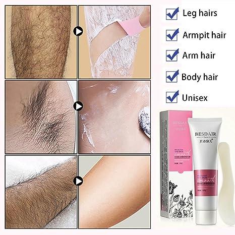 TAOtTAO - Brazos para el cuerpo de las piernas de crema depilatoria suave y depilatoria,