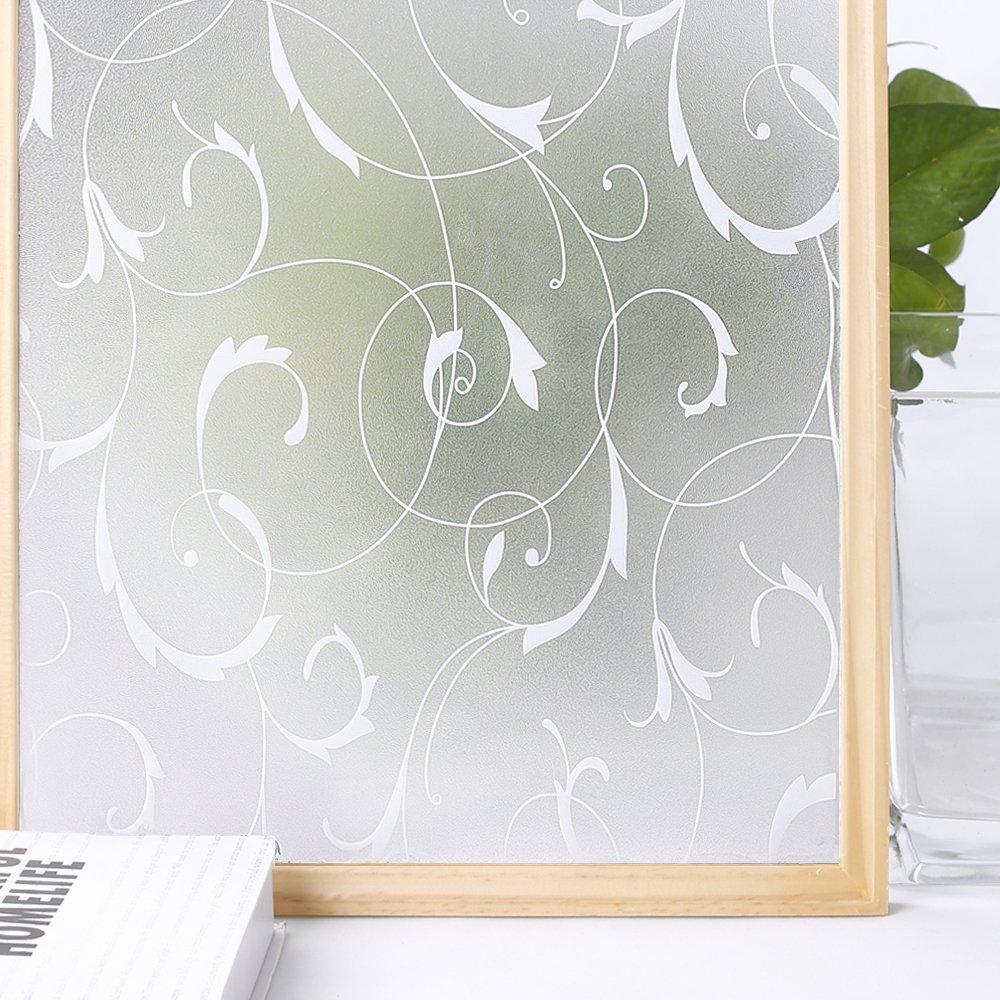 Homein Milchglasfolie Sichtschutzfolie Fensterfolie Klebefolie