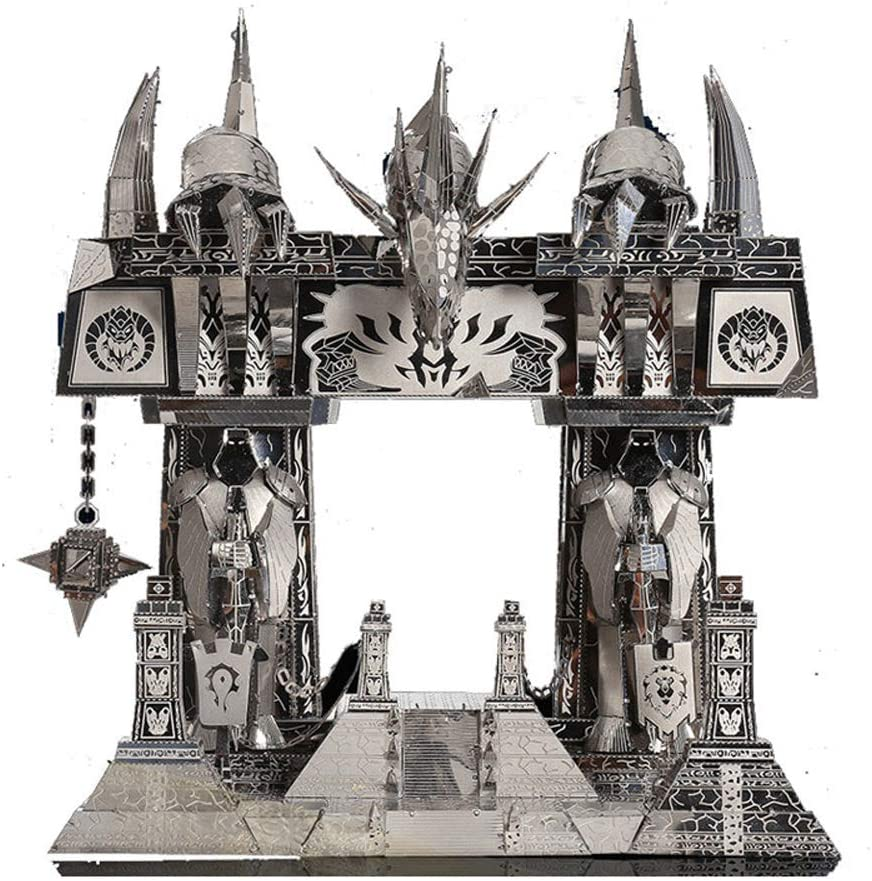 Picture Kingdom World of Warcraft Portal Oscuro Maqueta de Metal ...