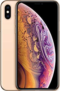 Simple Mobile Prepaid - Apple iPhone XS (64GB) - Gold [Locked to Carrier – Simple Mobile]