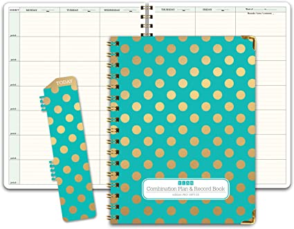 HARDCOVER Combination Plan and Record Book