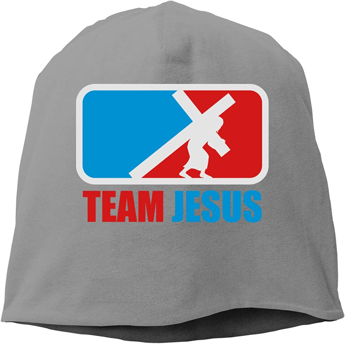 Negi Blue Red Team Jesus Fashion Caps Beanie Hat for Mens