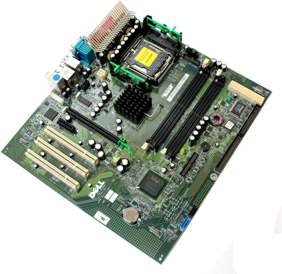 Genuine Dell OptiPlex GX280 Motherboard Systemboard Mainboard For The Small Mini Tower (SMT) System, Compatible Dell Part Numbers: G5611, Y5638, U4100, H7276, FC928, U7915, K5146, KC361, XF961, XF954, X7967