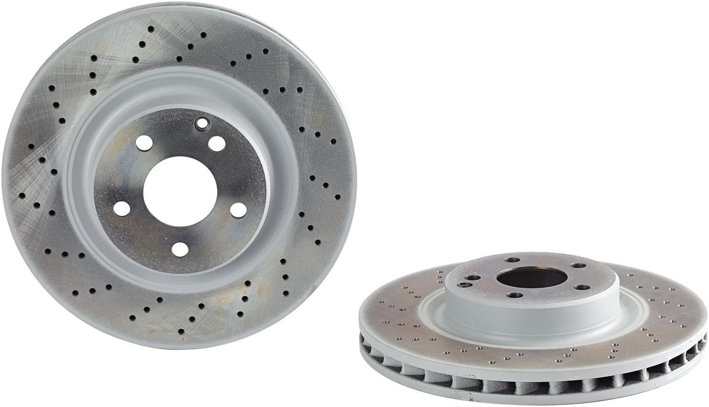 Brembo 09.9825.11 UV Coated Front Disc Brake Rotor