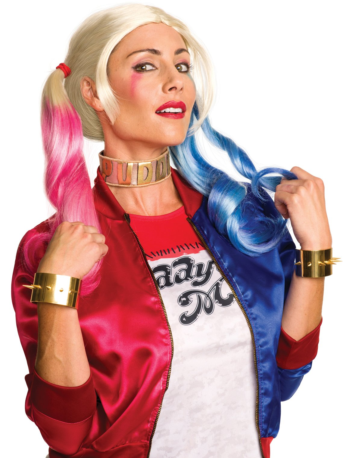 Rubie's Women's Suicide Squad Harley Jewelry Set, As Shown, One Size