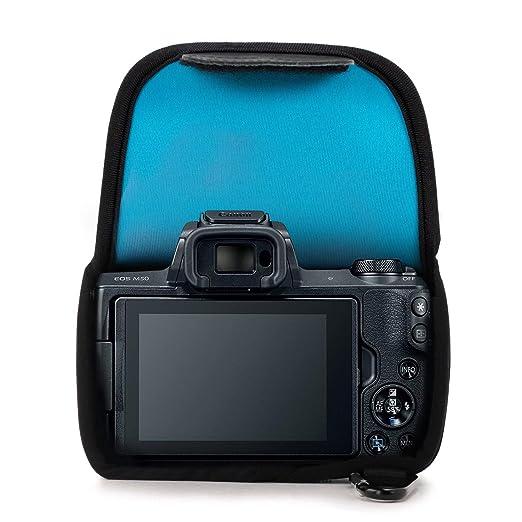 MegaGear MG1038 Canon EOS M50, M5 (15-45) Estuche de cámara ultra ...