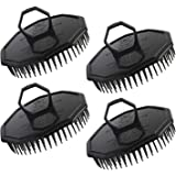 4pcs Shampoo Brushes, Segbeauty Hair Scalp Massager Shampoo Comb with Soft Pins Detangling Brush Anti-dandruff Thin…
