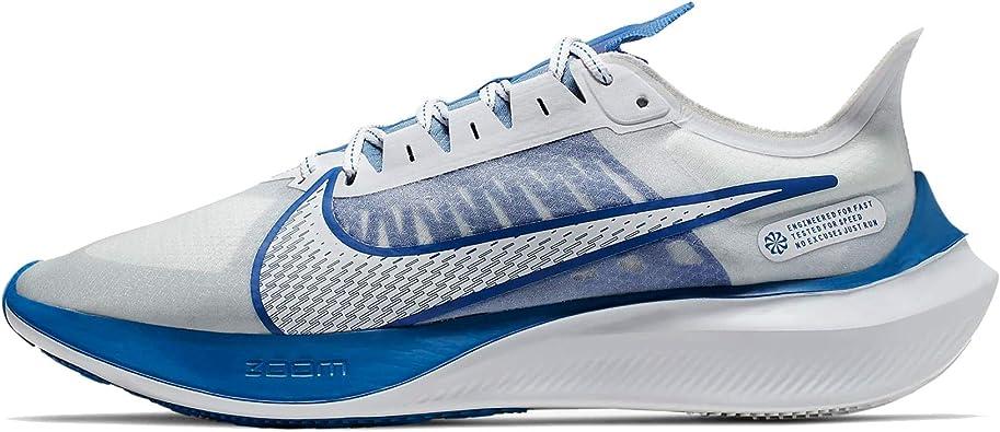 Nike Zoom Gravity Mens Bq3202-100 Size 14, White/Clear-racer Blue-football  Grey