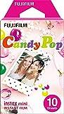 Fujifilm Instax Mini Candy Pop Instant Film (10 Color Prints) [International Version]