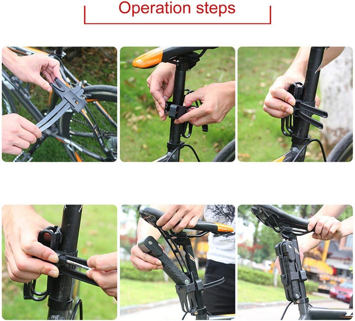 Comomingo Lucchetto Pieghevole antifurto per Bicicletta Anti-cesoia da 12 tonnellate Taglierina idraulica per Bici elettrica Parte della Catena
