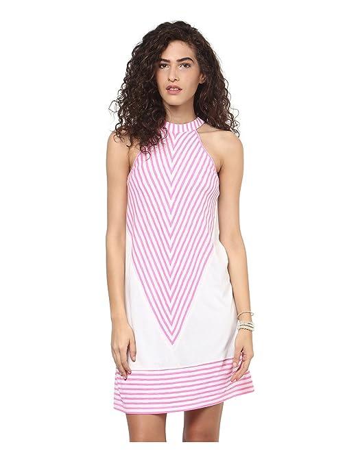 b489b5e797af Yepme - In bianco e nero Tubino - Bianco e Rosa  Amazon.it  Abbigliamento