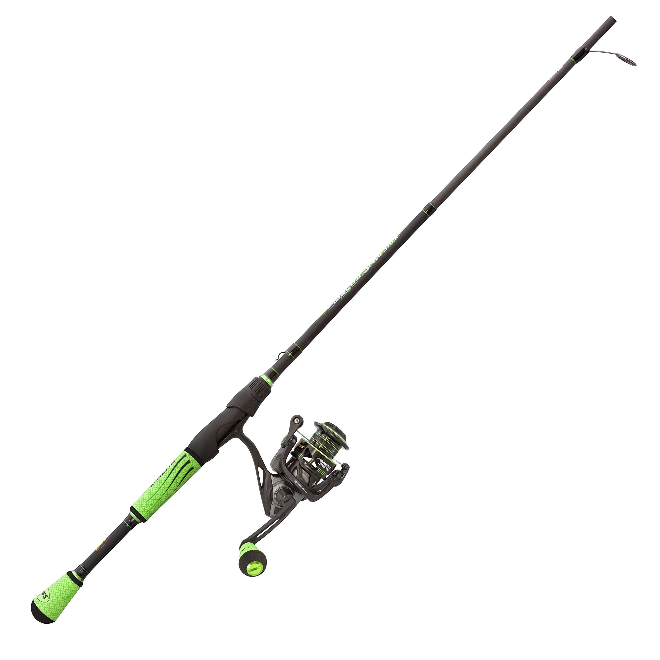 Lew's Fishing M23069MFS Lews Fishing, Mach II Spinning Combo, 6.2: 1 Gear Ratio, 10 Bearings, 6'9'' 1Piece, Medium/Fast Power. Ambidextrous