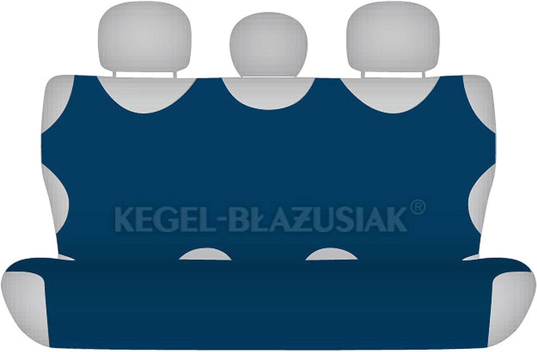ZentimeX Z735838 Sitzbez/üge R/ückbank T-Shirt-Design Baumwolle marineblau blau