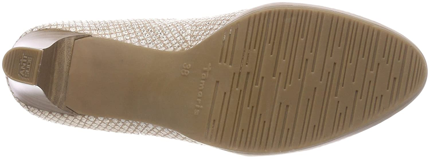 Tamaris Damen Str.) 22410 Pumps Beige (Shell Str.) Damen 2959d8