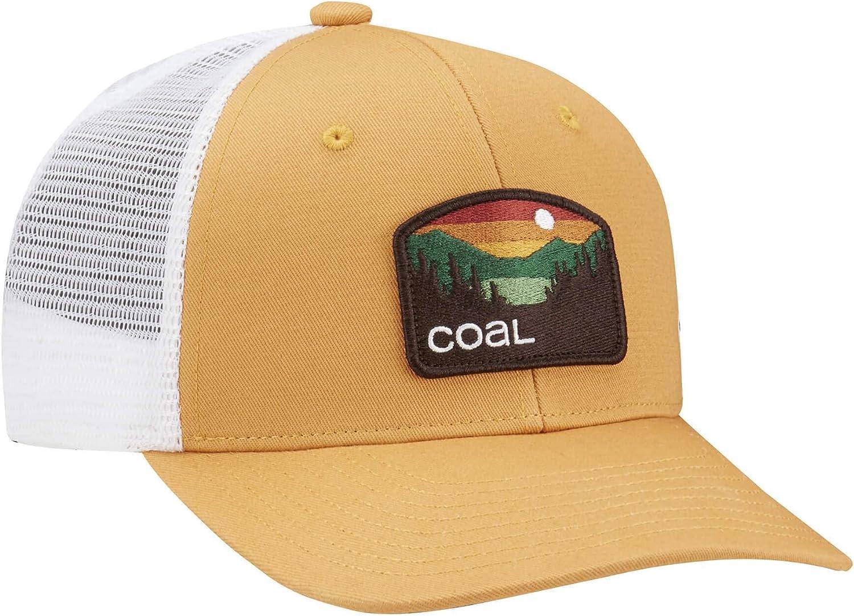 Mesh Adjustable Curved Bill Snapback Hat Yellow The Hauler Low Profile Trucker Cap