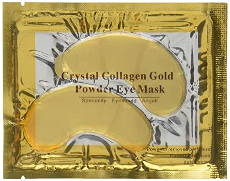 100 Crystal 24K Gold Powder Gel Collagen Eyes Masks Sheet Patch Anti Ageing Remove Bags Dark Circles Puffiness Skin Care Anti Wrinkle Moisturising Hydrating