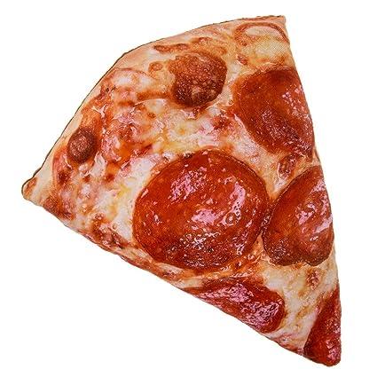 Cuscino A Forma Di Trancio Di Pizza Spicchio Amazon It Casa E Cucina