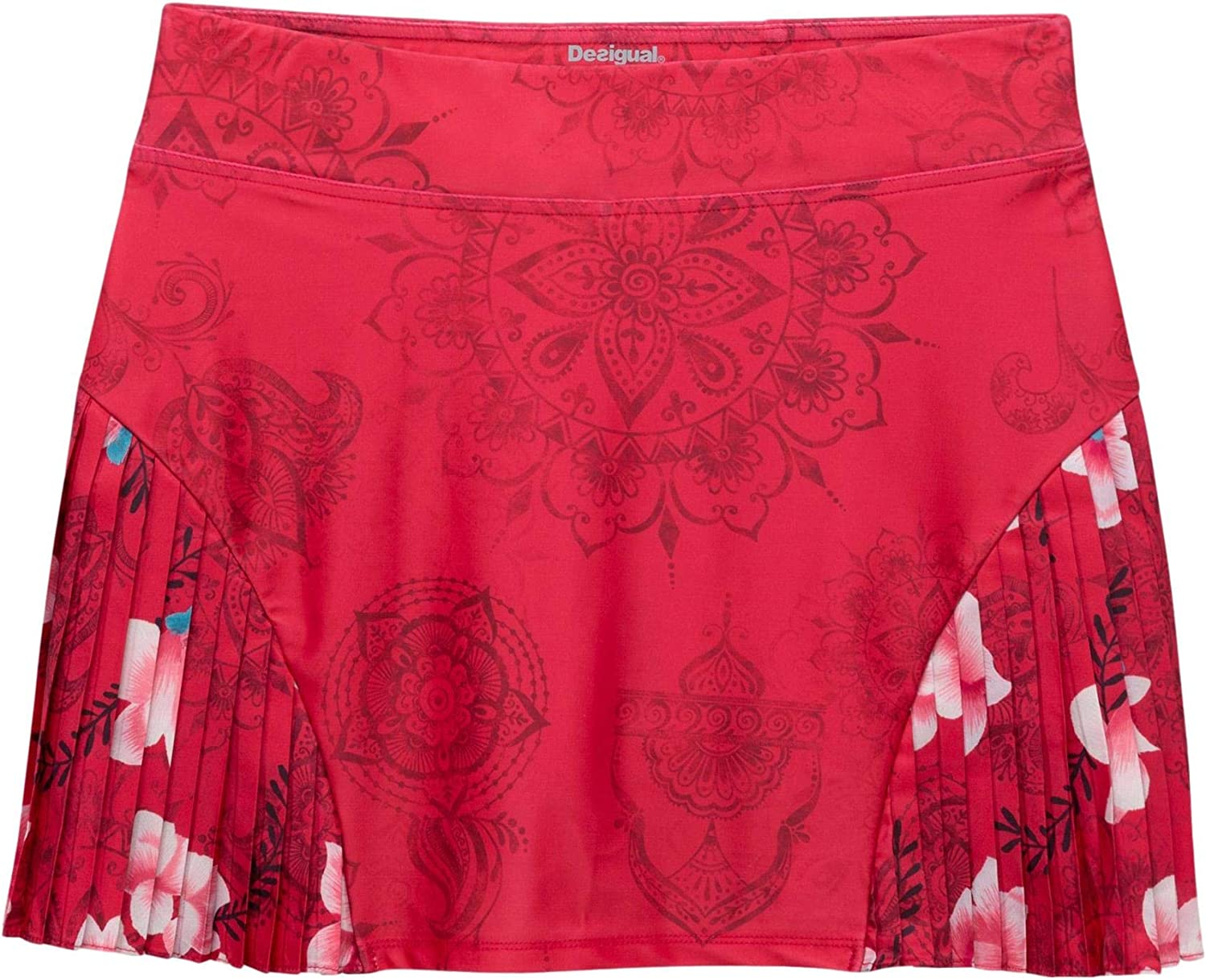 Desigual Falda Padel Hindi Dancer-S,M,L: Amazon.es: Deportes y ...