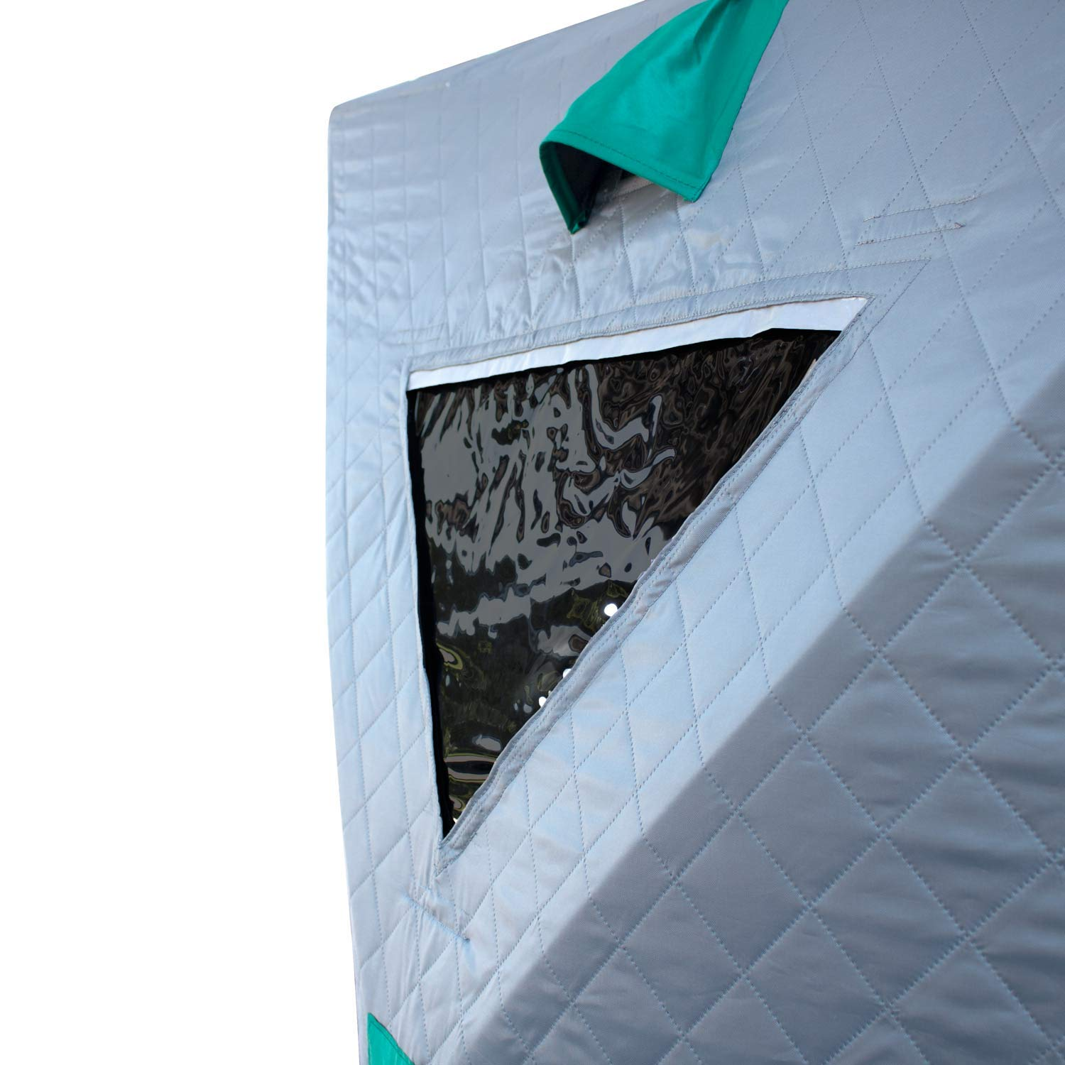 Elkton Outdoors Portable Insulated Ice Fishing Tent