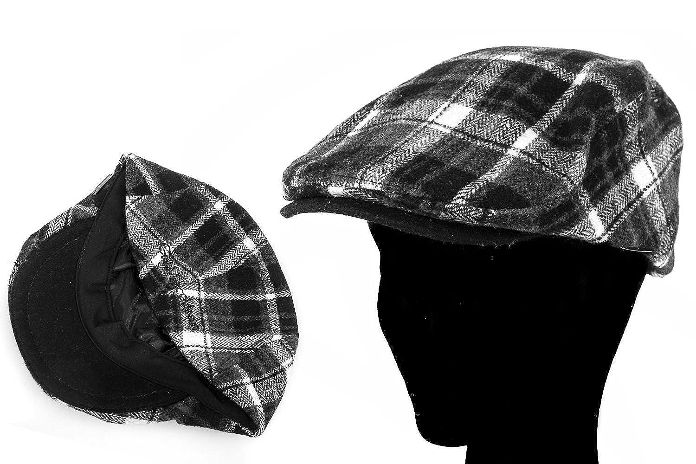 Cappello uomo GIANMARCO VENTURI coppola scozzese con visiera taglia unica  L1514  Amazon.it  Scarpe e borse 240855be2163
