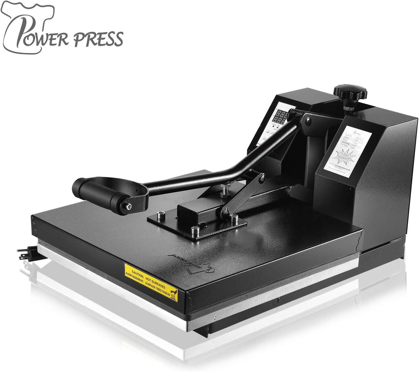 PowerPress Digital Sublimation Heat Press Machine