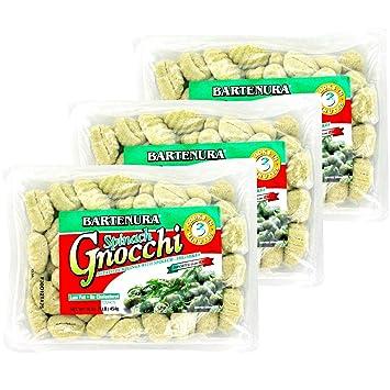 29250d5ebd23f Bartenura Potato Gnocchi, Spinach 1LB (3 Pack)