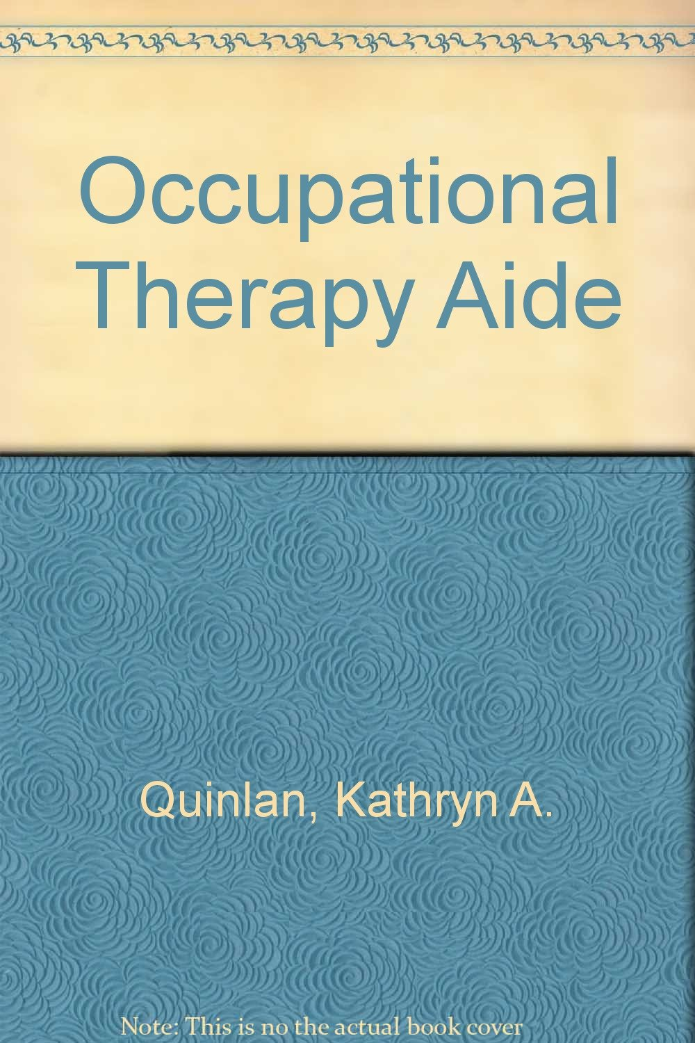 Occupational Therapy Aide 9780516213996 Amazon Books