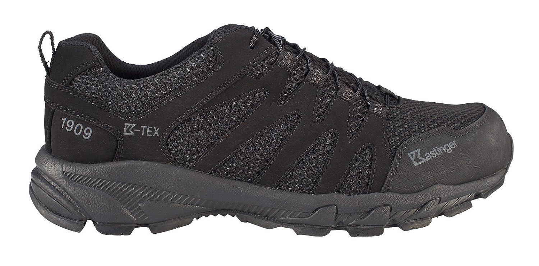 Kastinger Unisex Schuhe Damen und Herren Powertrail Trailrunner mit Wasserdichter K-Tex Membran Schnellschnürung Leder-Halbschuh