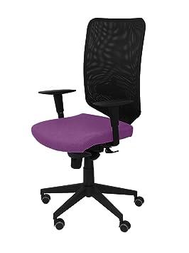 chaise de bureau couleur lilas