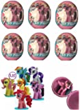 6 NEW MY LITTLE PONY EGGS WITH FIGURE PER EGG