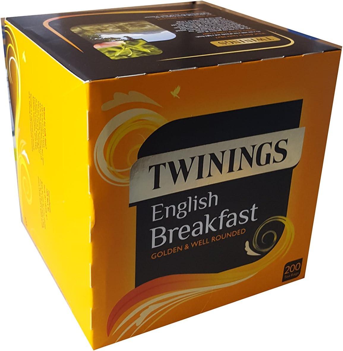 Twinings English Breakfast Tea Bags 500 g: Amazon.es: Alimentación y bebidas