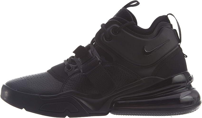 Nike Air Force 270, Zapatillas de Baloncesto para Hombre, Negro ...