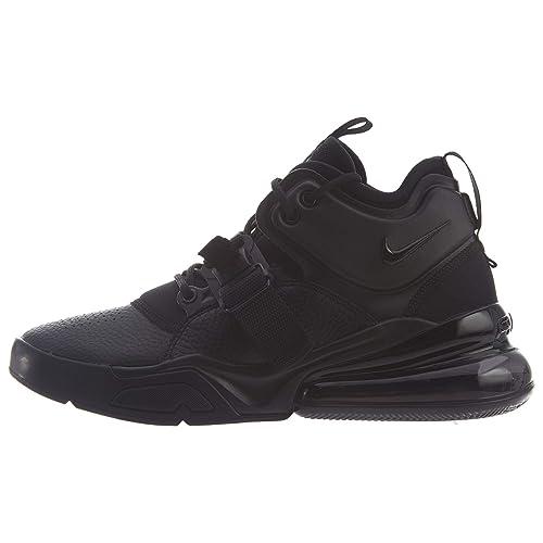 Nike Herren Air Force 270 Basketballschuhe, Schwarz