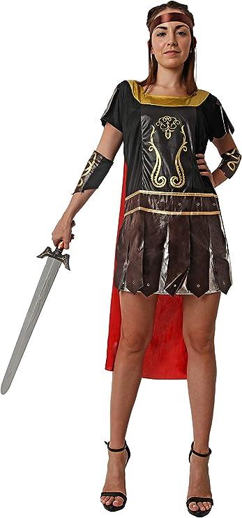 Costumizate! Disfraz de Guerrera Romana para Mujer Adulta Especial ...
