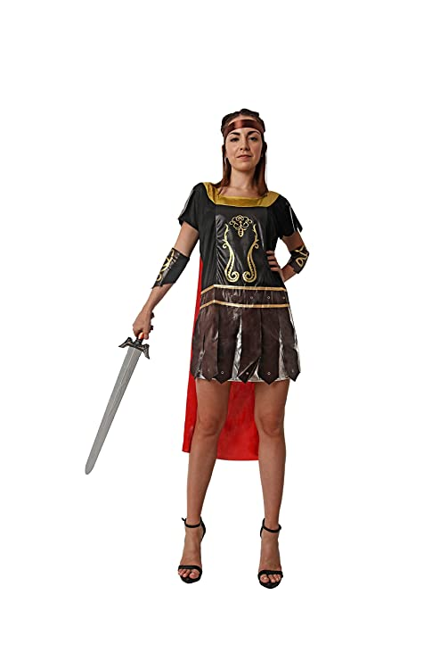 Costumizate! Disfraz de Guerrera Romana para Mujer Adulta ...