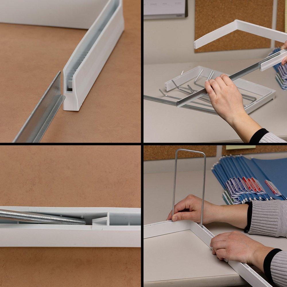 SMEAD schwere Verstellbarer Rahmen für hängende Ordner Größe ...