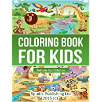 Coloring Book for Kids: Animals for Children