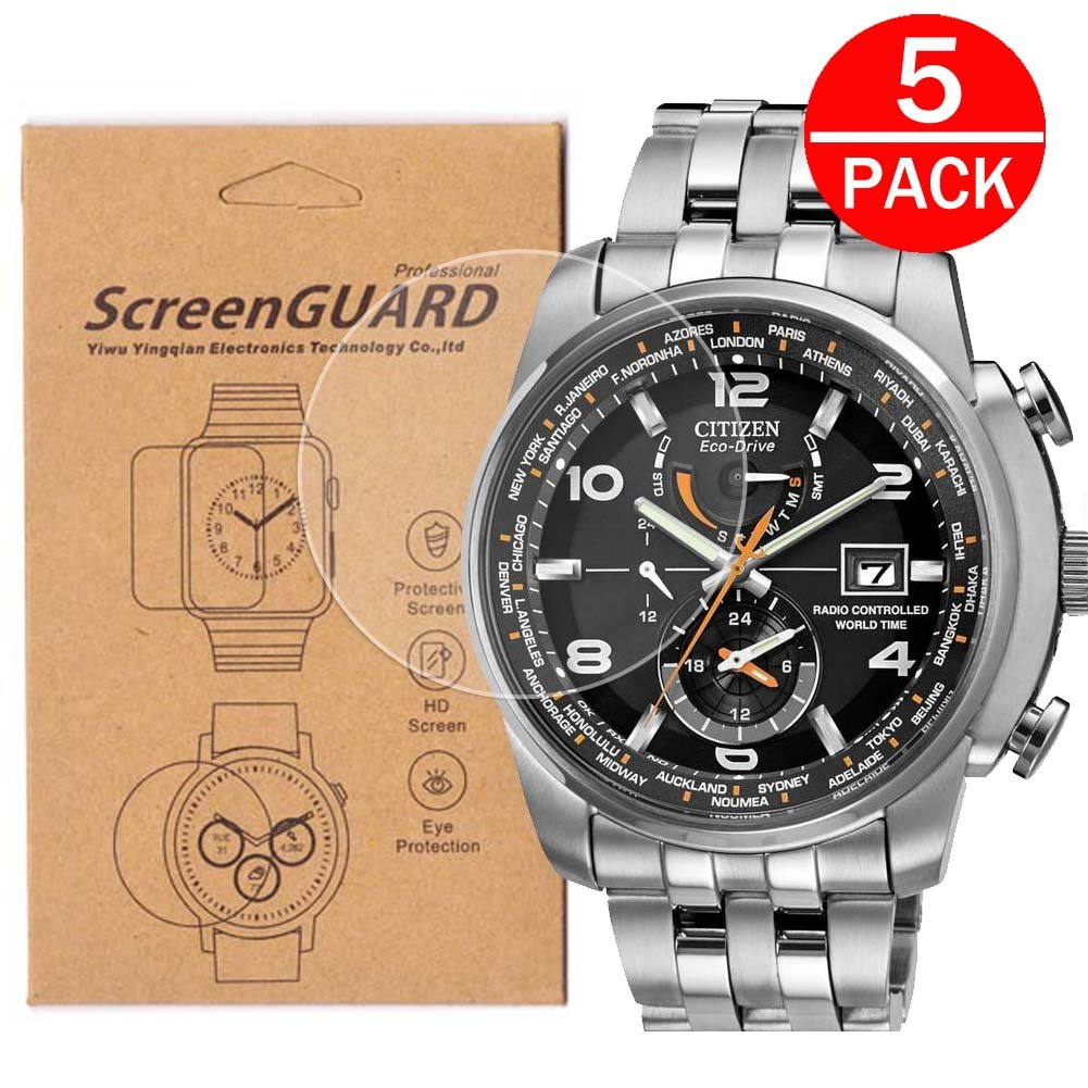 Amazon.com: [5-Pack] For Citizen AT9010-52E Watch Screen ...