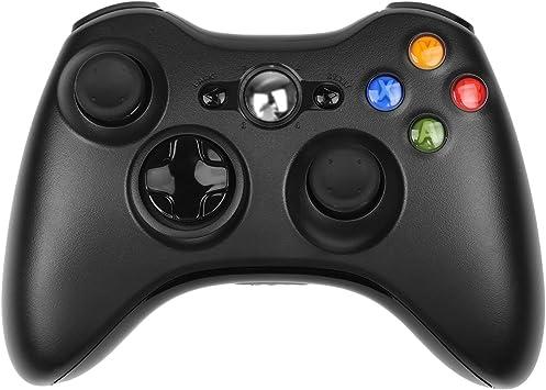 Mando Xbox 360 STOGA Control de Juegos Gamepad USB con Cable de Hombro Botones de diseño ergonómico Mejorado para Microsoft Xbox y Slim 360 PC Windows 7 (Negro): Amazon.es: Electrónica