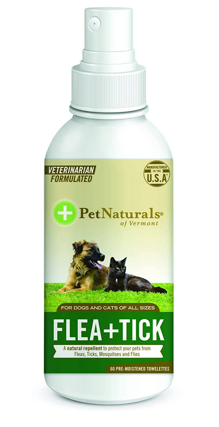 Pet Naturals of Vermont + de pulgas Tick Repelente Spray, 8-Ounce: Amazon.es: Productos para mascotas