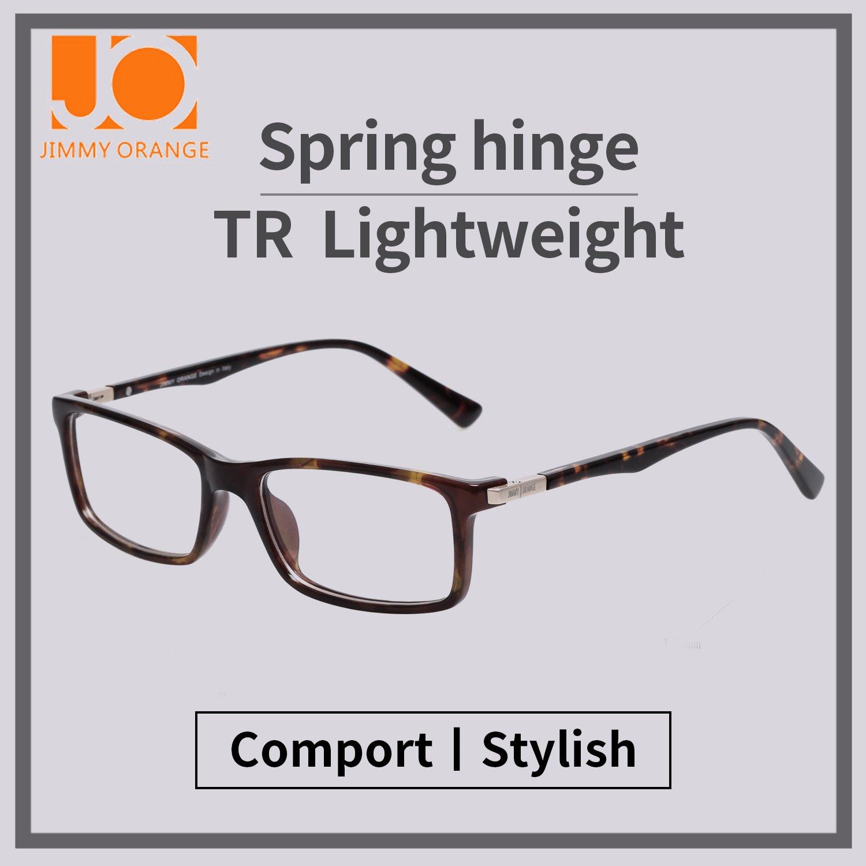 09c5201e2e2 LianSan Womens Mens Fashion Rectangle Acetate Optical Frames Clear Glasses  L7601 EU-L7601BN