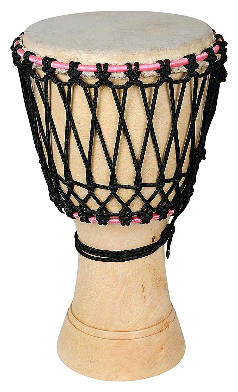 注目のブランド Makan African Wood, Style Hand Bag Leather & Wood, Hand Crafted 13 Inch Natural Coloured Drum/Djembes/Djembe Musical Percussion Instrument With Carry Bag B07QCBGX9F, ハンコワークス:9e30a185 --- a0267596.xsph.ru