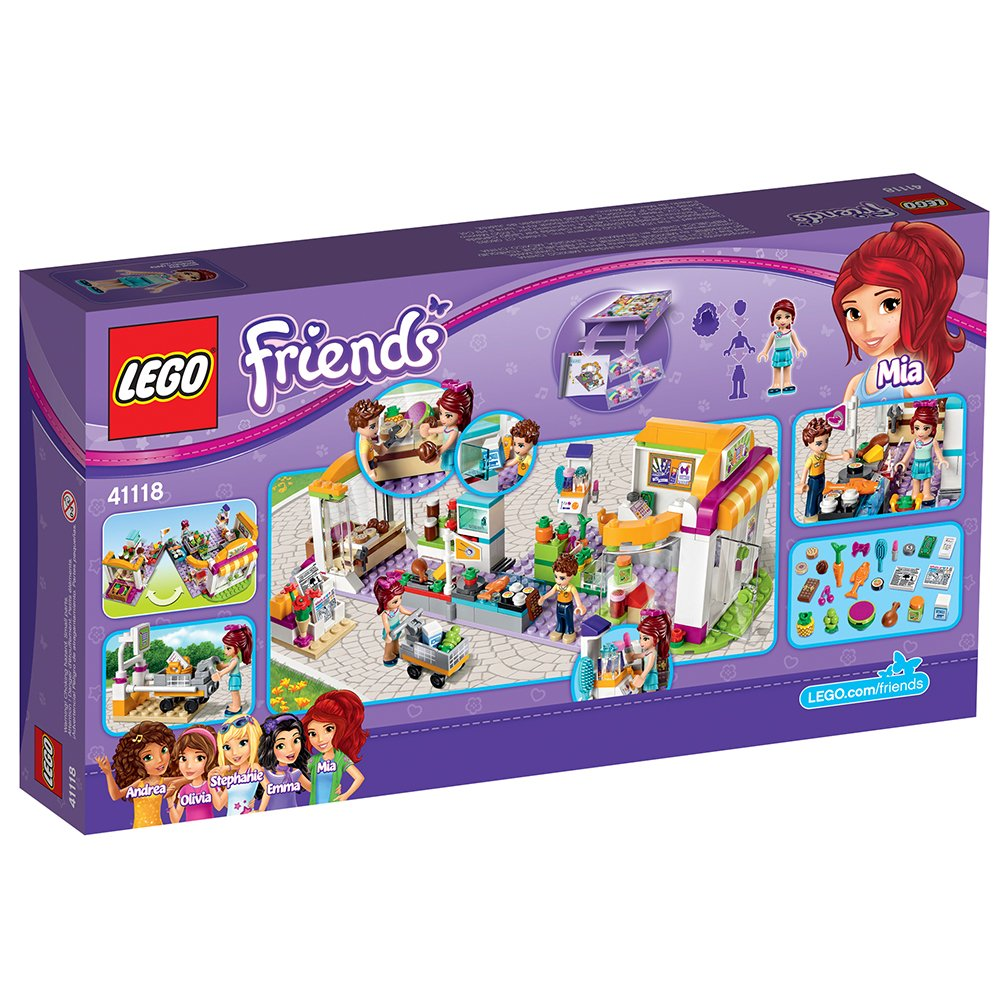 LEGO Friends Heartlake Supermarket 41118 Toy for 9-Year ...