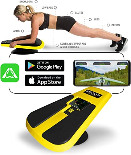 Amazon Com Stealth Core Trainer Dynamic Core Full Body Workout While Playing Games Free Ios Android Mobile Games App Patented 360 Degree Planking Motion Build Muscle Lose Body Fat In