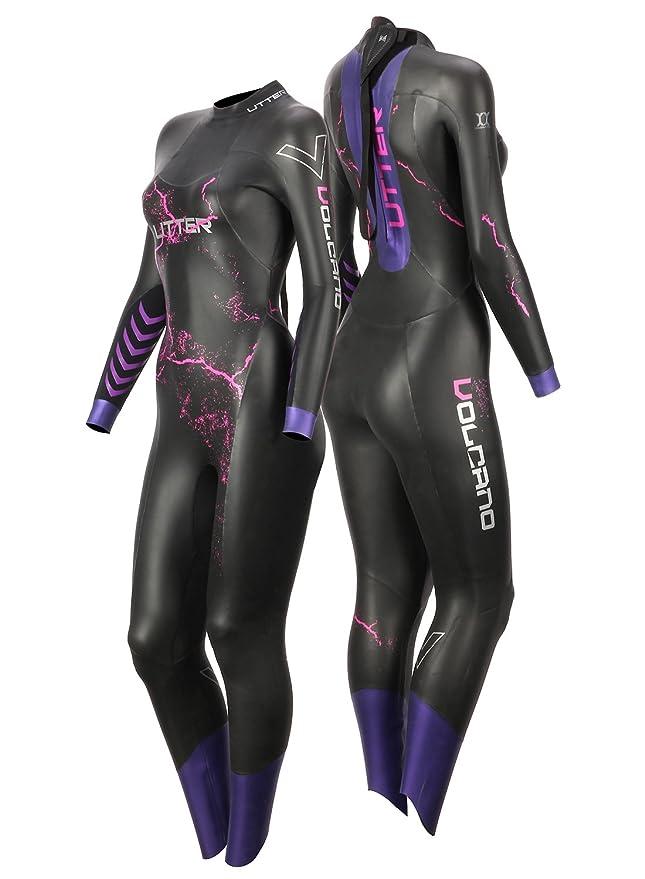 c69d5ae674 Amazon.com: UTTER Triathlon Wetsuits Mens 5mm Neoprene Wetsuits ...