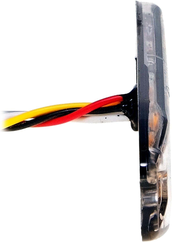 Led Martin 2er Sparset R65 Blitzmodul Sf4 Super Flach 12v 24v Mit Ece R65 Zulassung Als Frontblitzer Stauwarner Heckwarnanlage Für Pkw Lkw Geeignet Auto